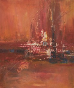 Abstraktion - abstrakt, acryl