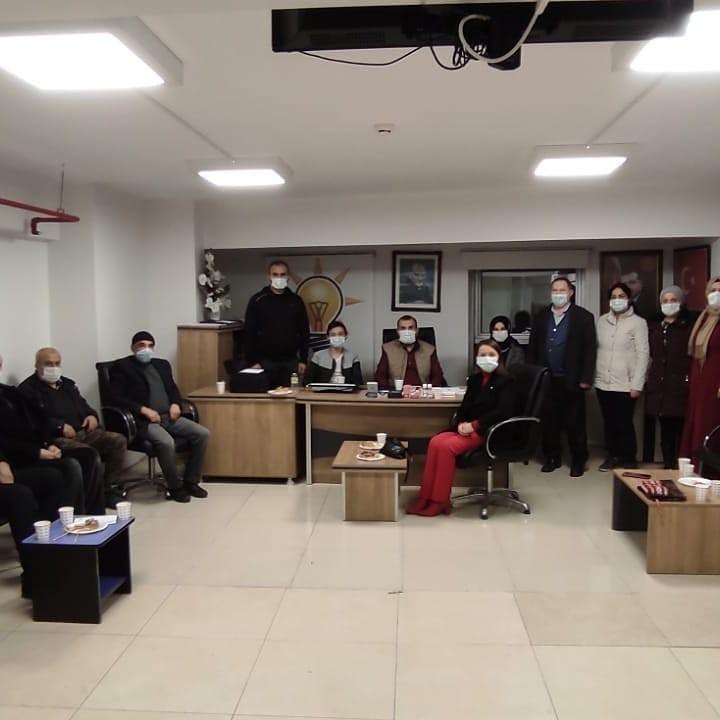 AK Parti Pazaryeri İlçe Yönetim Kurulu toplantısı gerçekleştirildi