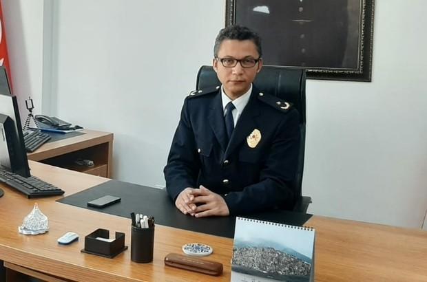 İlçe Emniyet Müdürü Özgan'dan Polis Haftası kutlama mesajı