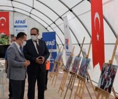 AFAD Farkındalık Eğitim Çadırı kuruldu