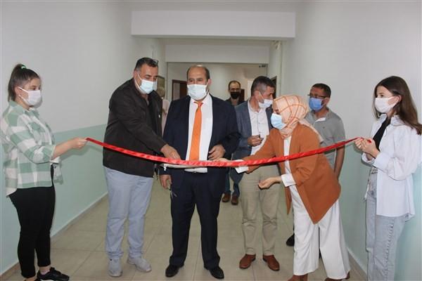 Osmaneli'nde Hayat Boyu Öğrenme Haftası nedeniyle sergi açıldı