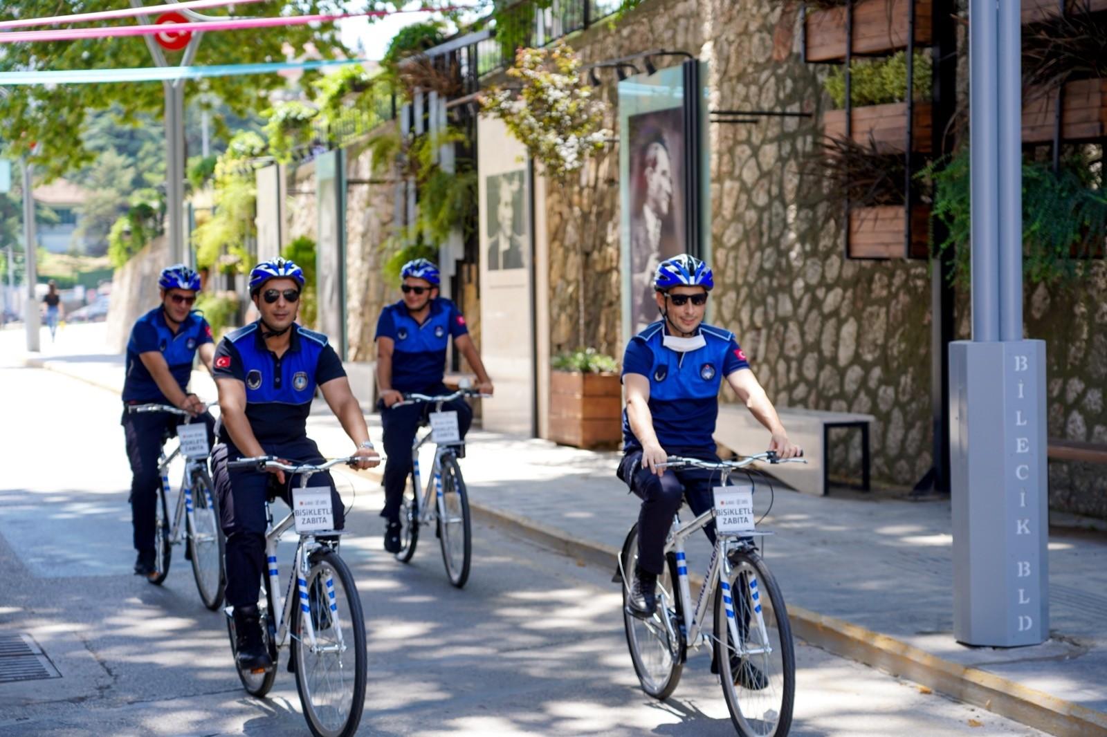 (ÖZEL) 'Bisikletli Zabıta' ekipleri göreve başladı