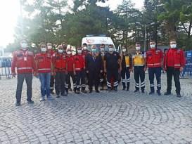 Bakan Yardımcısı Eldemir'den sağlık çalışanlarına ziyaret