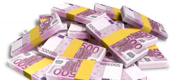 Euro sedler