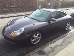 Vores importerede Porsche 911 C2