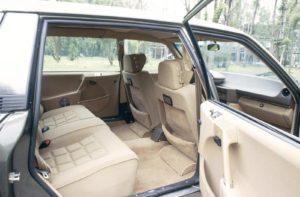Alle ombord i en CX blev fragtet i luksus - særligt på bagsædet af en forlænget Prestige-version.