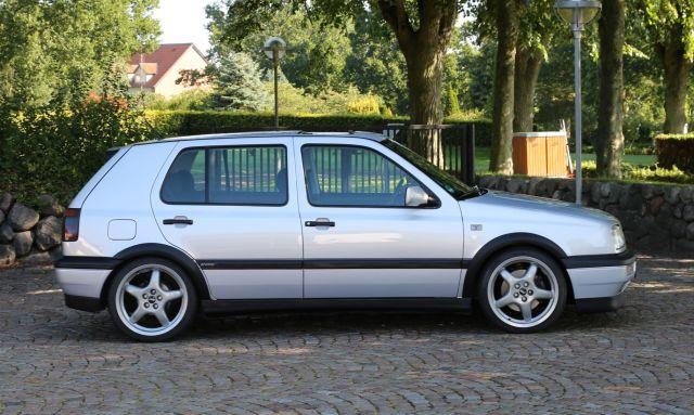 VW Golf VR6 sideprofil