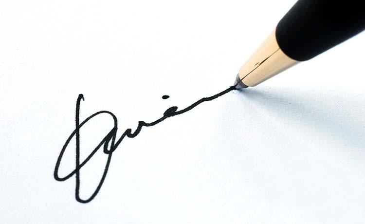 imza nasıl atılır