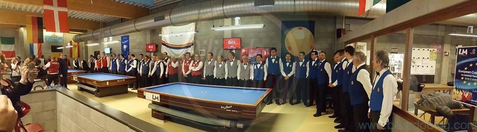 Cerimonia Campionato Europeo a Squadre di Biliardo