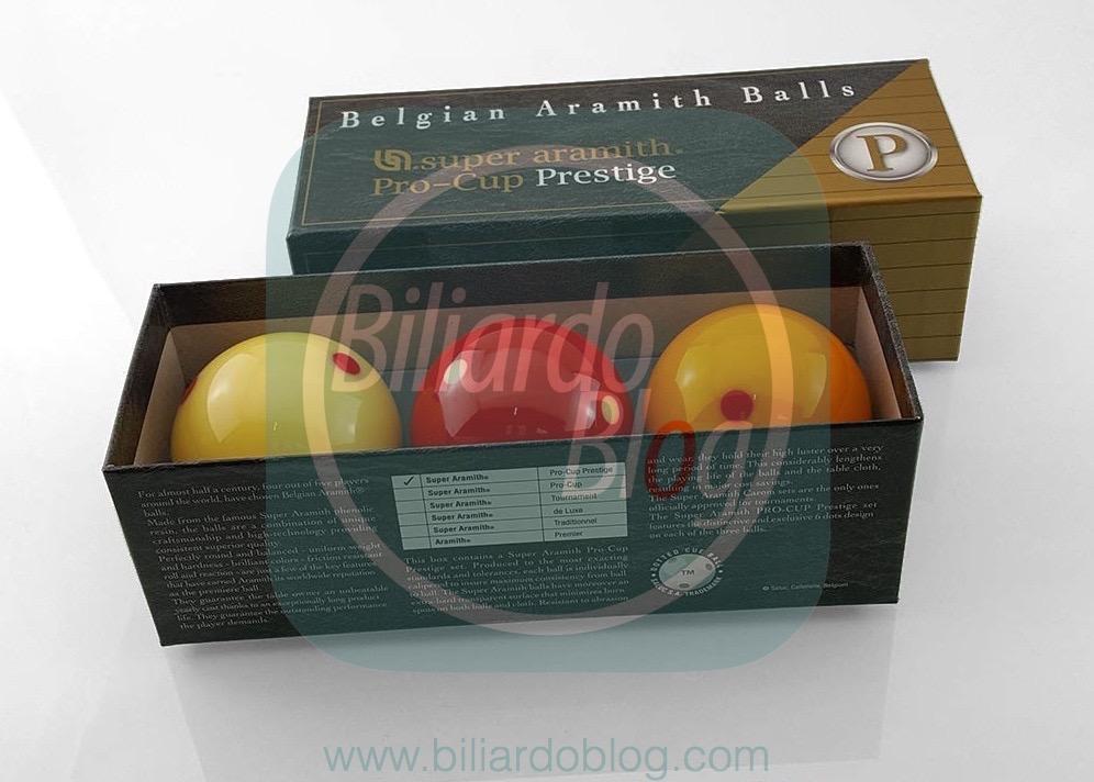 Nuove Bilie da Biliardo Puntinate Aramith Cup Pro Prestige