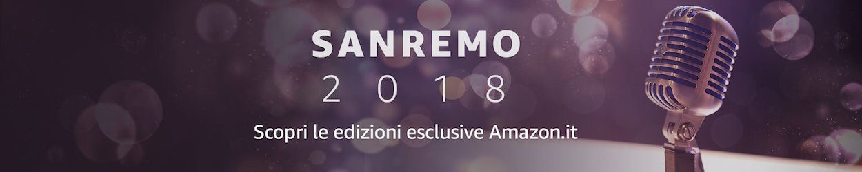 Le canzoni di San Remo 2018