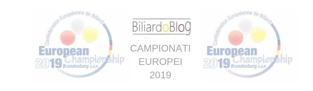 Campionato Europeo di Biliardo 5 birilli 2019
