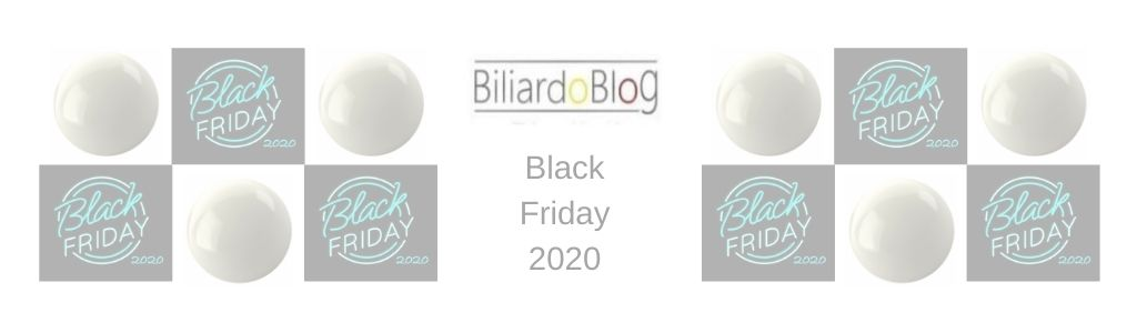 Biliardo Black Friday 2020