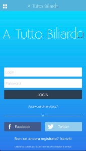 Risparmiare su acquisto accessori da Biliardo: App 1