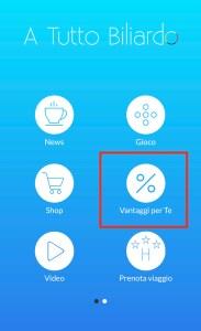 Risparmiare su acquisto accessori da Biliardo: App 2