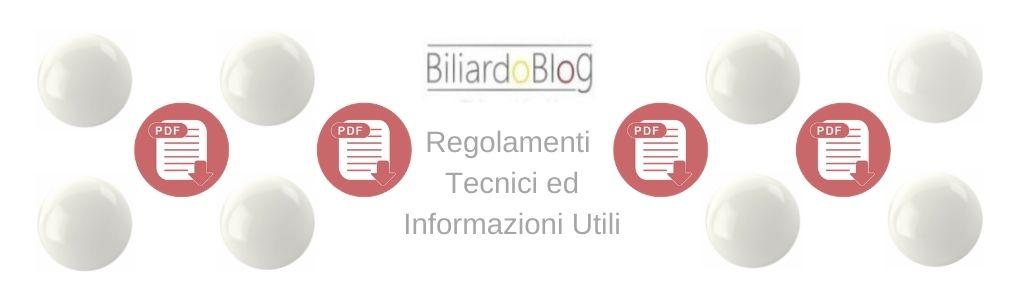 Regolamento Tecnico Biliardo