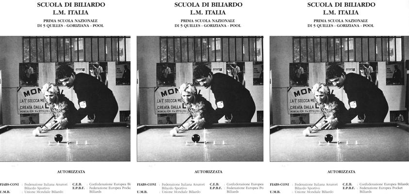 la prima scuola di Biliardo in Italia