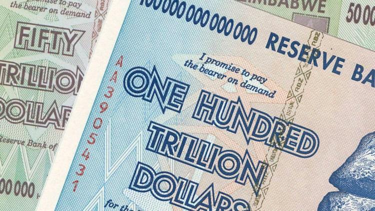 Zimbabwe har veldig artige penger