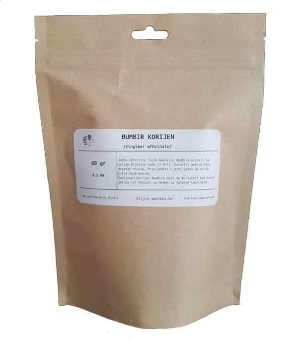 Čaj od korijena đumbira