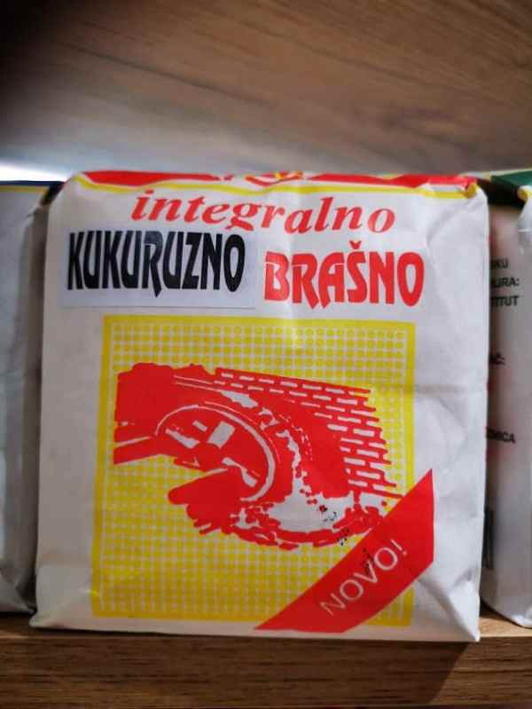 Integralno kukuruzno brašno sa vodenicw