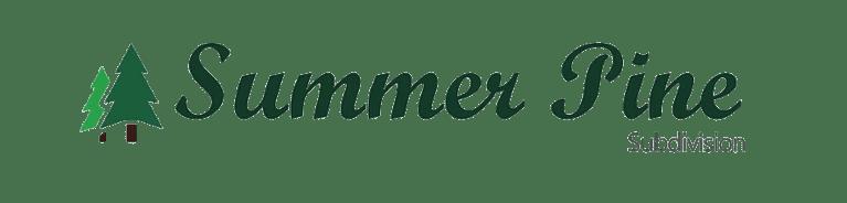 Summer Pine Subdivision