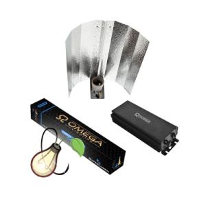 OMEGA DIGI-PRO 600W DIGITAL BALLAST, REFLECTOR AND METAL HALIDE LAMP BULB KIT