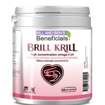 Brill Krill - A highly concentrated source of Omega 3 Oil