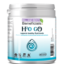 H2 o Go - A Combination of herbals and nutrients to support healthy fluid levels