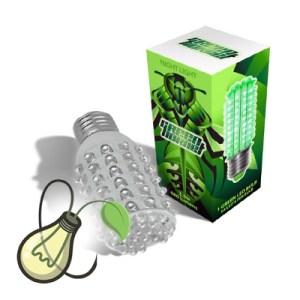 Green Hornet Green LED Bulb