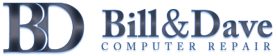 Bill & Dave Computer Repair Inc. 613.317.1200 | Ottawa Computer Repair and Services, iPhone | iPod | iPad | Laptops | Tablets | Game Consoles Logo