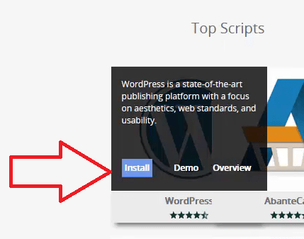 How to Start A WordPress Blog on Qservers_InstallButton5
