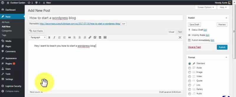 How to Start A WordPress Blog on Qservers_NewPost25