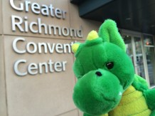Windsor makes it to the Greater Richmond Convention Center.