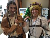 Windsor didn't get into a fight with these cosplayers from Attack on Titan.