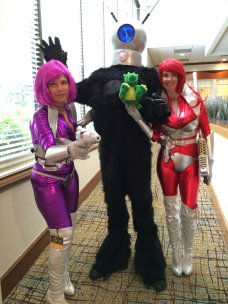 One of the most amazing group cosplays I've ever seen.
