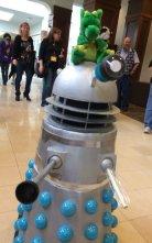 "Baby Dalek says, ""EXTERMINATE!!!"""