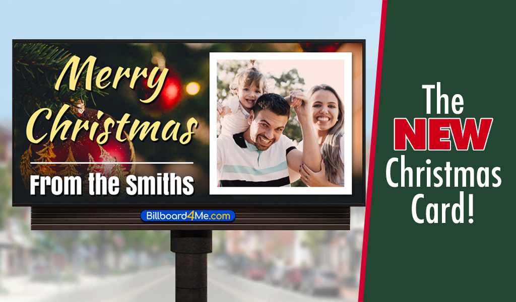 Billboard Christmas Card