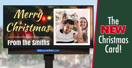 Billboard Christmas Card