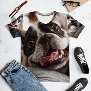 All Over Custom Print T-Shirt