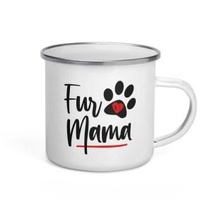 Fur Mama Enamel Mug