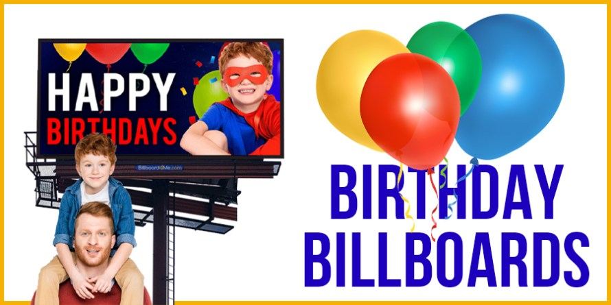 Birthday Billboards