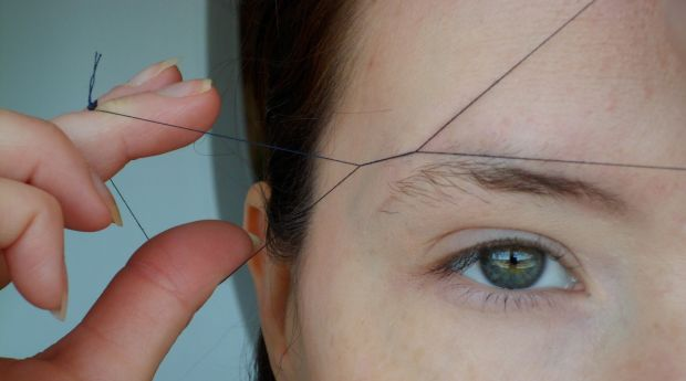 How To Do Eyebrow Threading