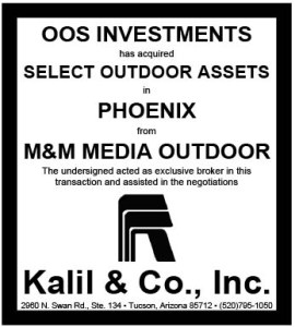 Microsoft Word - M&M Outdoor and OOS Investment Tombstone.docx