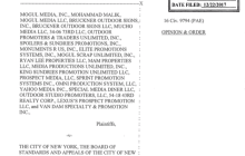 Appeals Court Backs NYC in Billboard Case