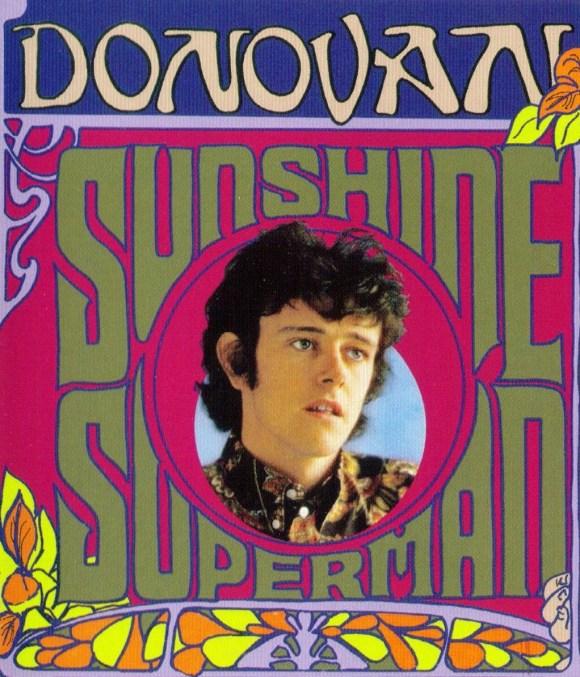 Donovan album cover Sunshine Superman