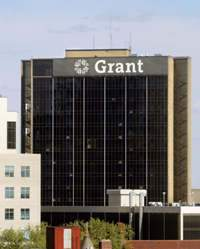 Grant Hospital's Baldwin Tower (before implosion)