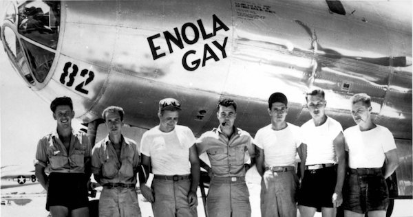 The Enola Gay is a Boeing B-29 Superfortress bomber, named for Enola Gay  Tibbets, the mother of the pilot, Colonel Paul Tibbets, who selected the  aircraft ...