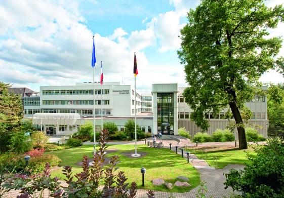 Haupteingang Krankenhaus Reinbek