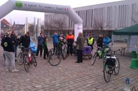 Leitra og Tour De Future på Rådhuspladsen Frederikshavn 2