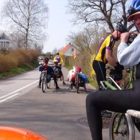 Liggecykelforeningen Foraarsweekend 2015